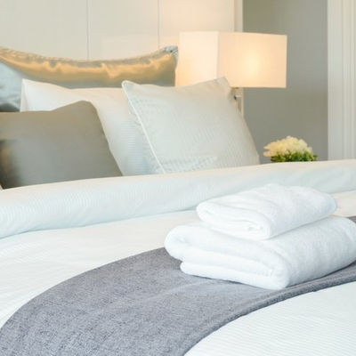 Why Does The Hotel Use White Linens And Towels