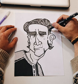 Paint Your Favourite Cartoon