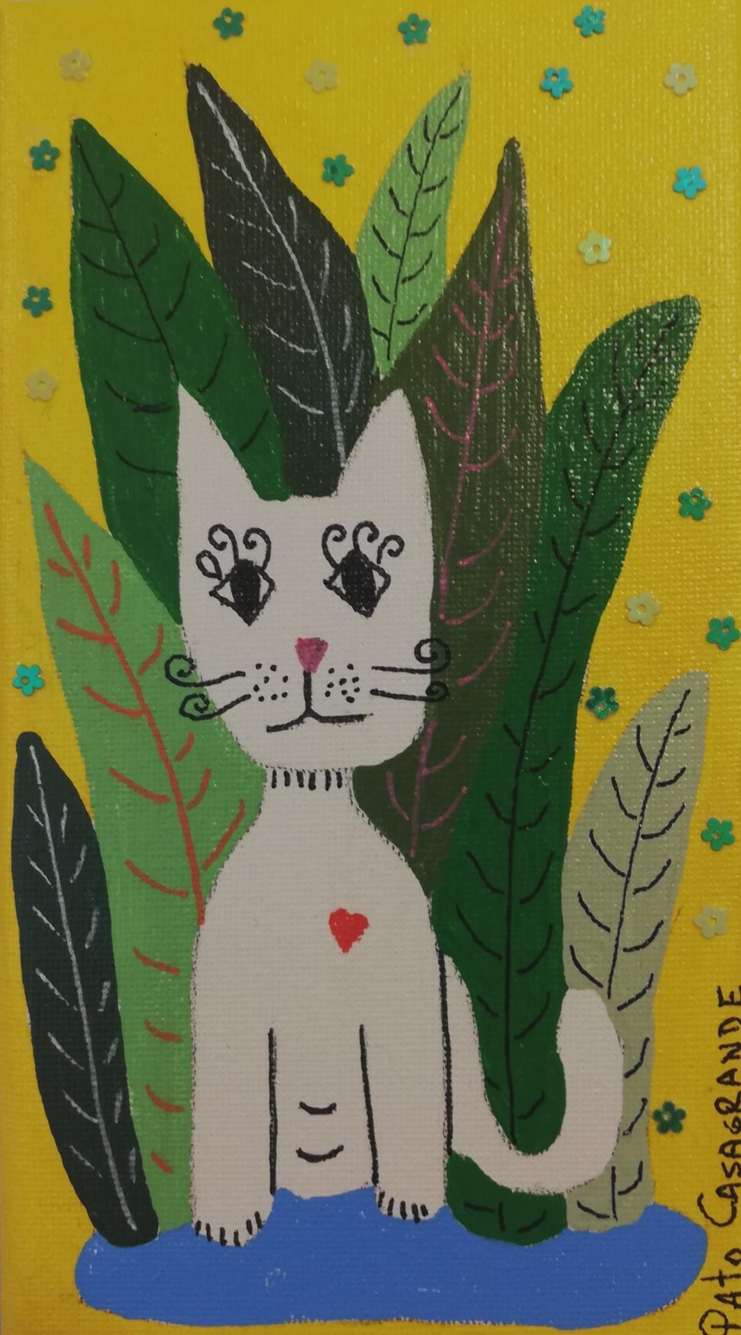 Gato en la selva