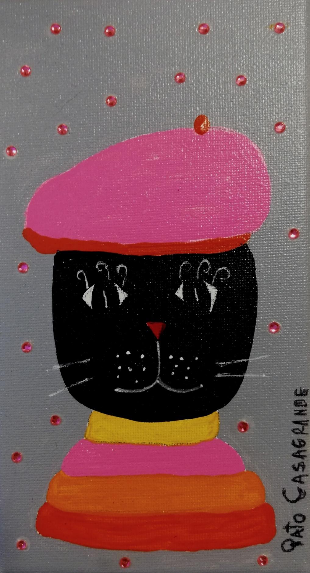 Gato con boina