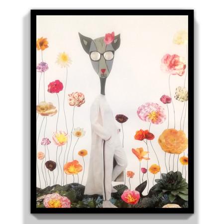 La Sra de las flores