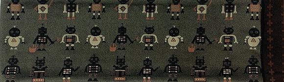 半幅帯 ロボット柄