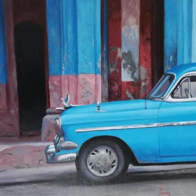 """BLUE CUBA"""