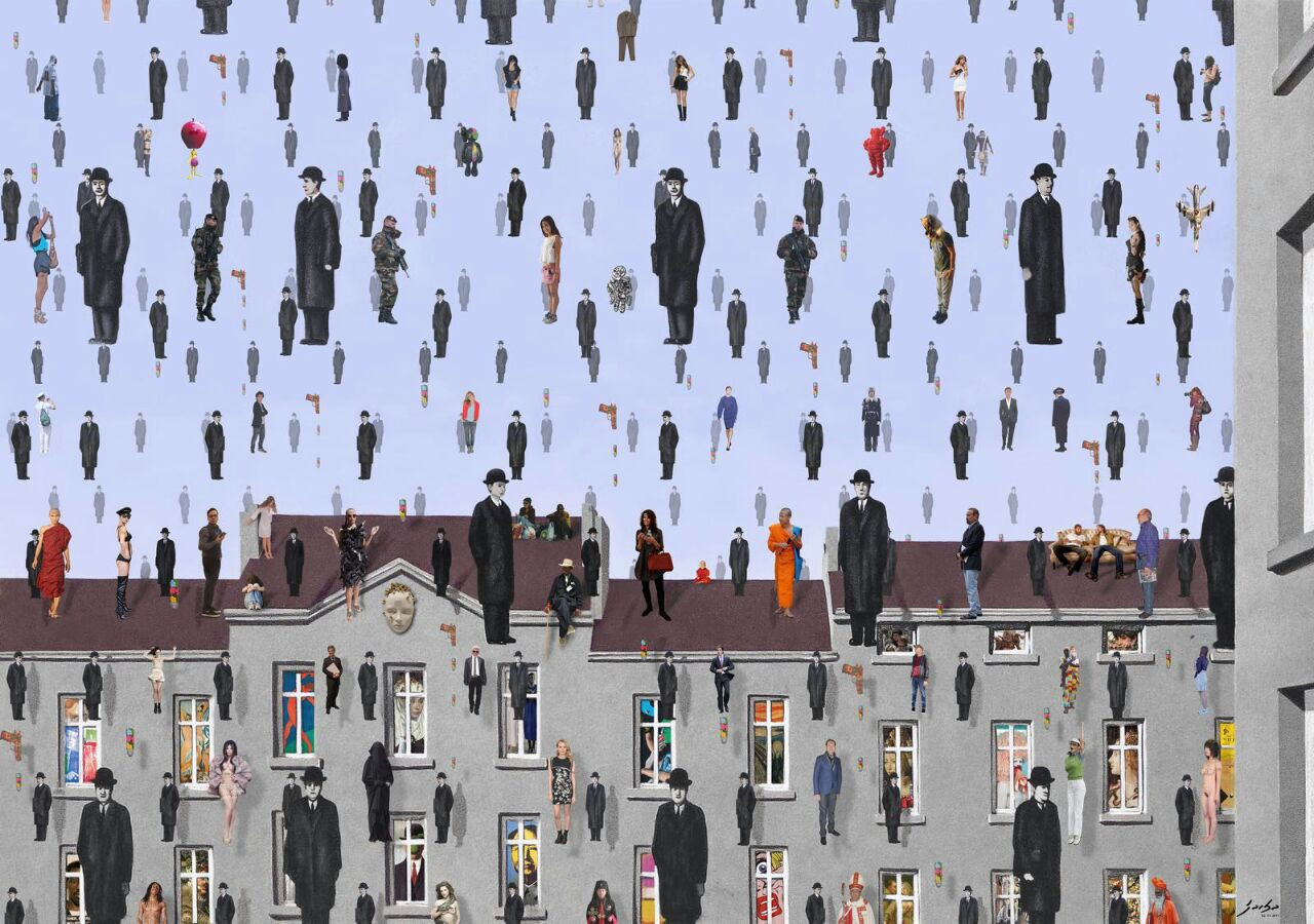 """""""GOLCONDE MAGRITTE"""""""