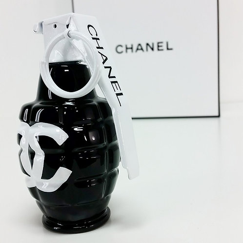 Chanel Black Art Grenade
