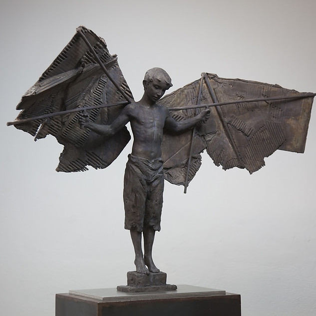 """LEARNING TO FLY"" (LIFE SIZE)"