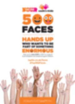500 Face Campaign Design