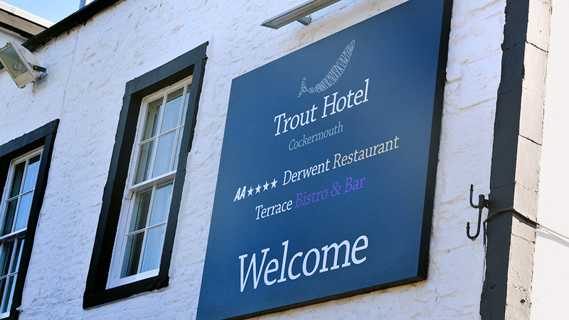 Trout Hotel Re-Brand