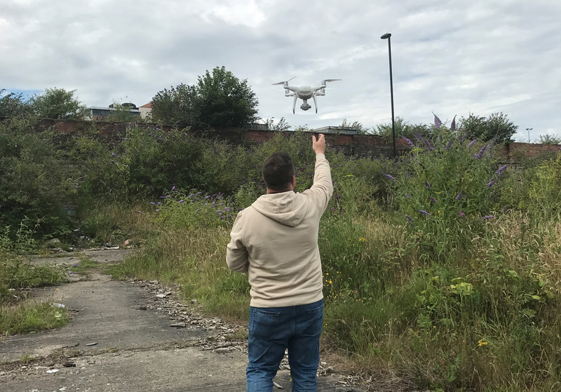 Helping drones fly too...