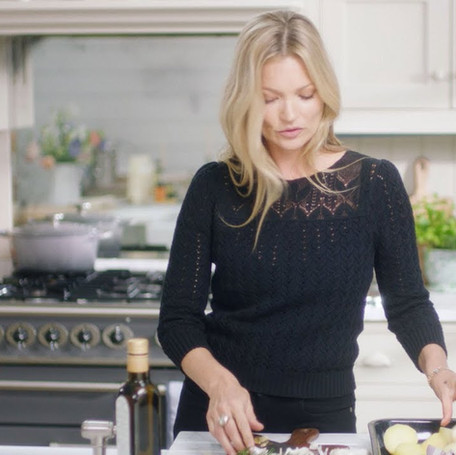 Cooking with Kate Moss