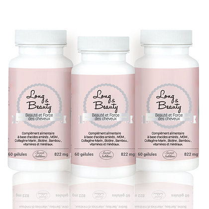 Complément alimentaire Long & Beauty Cure de 3 mois