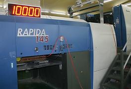 大判印刷機 KBA RAPIDA145-6