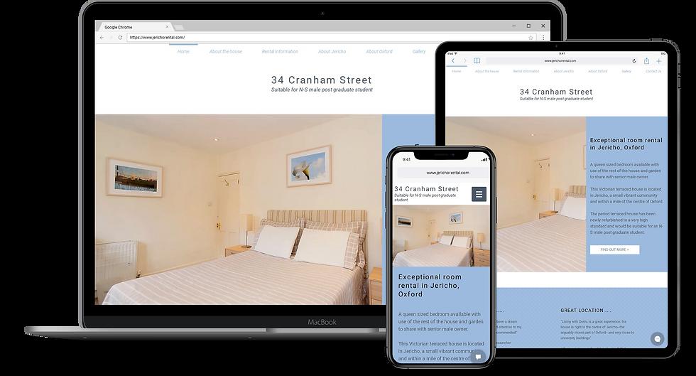 Web Design : Jericho Rental