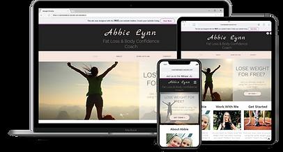 Web Design : Abbie Lynn