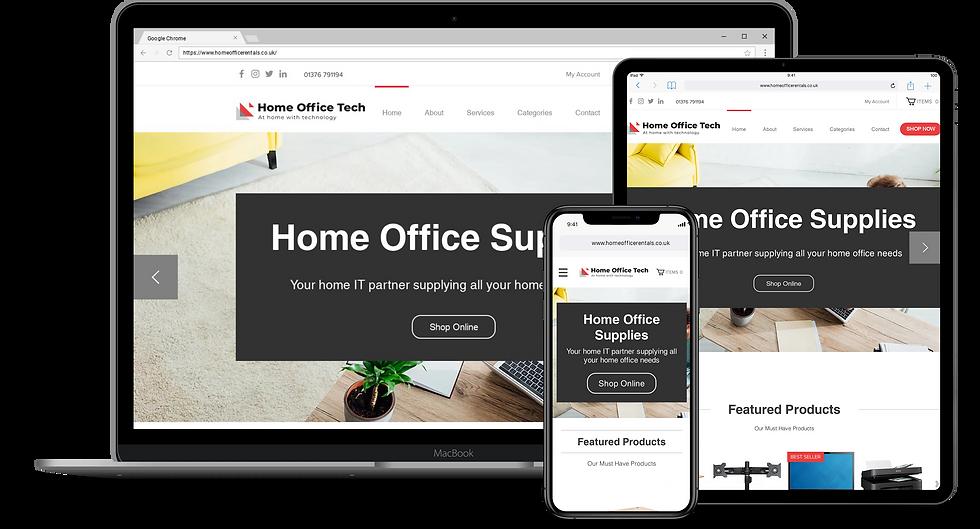 Web Design : Home Office Rentals