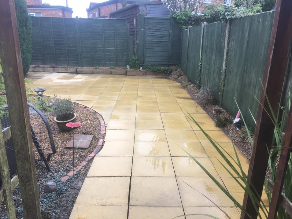 After - Patio Cleaning