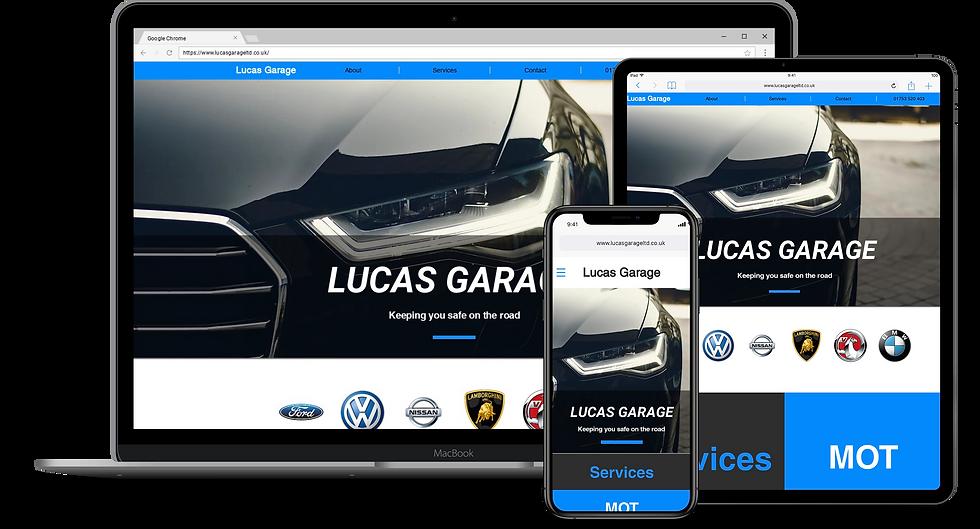 Web Design : Lucas Garage