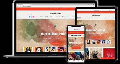 Web Design : Artisimo