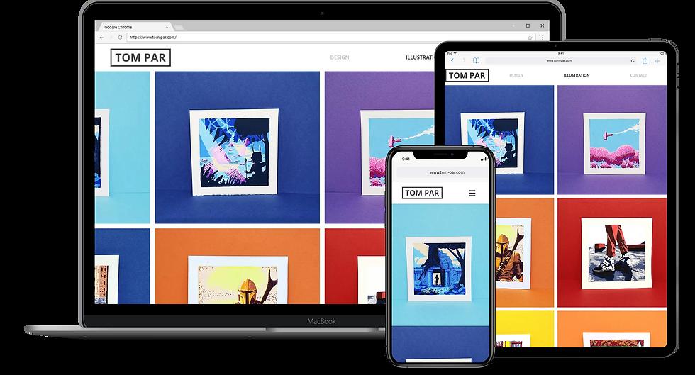 Web Design : Tom Par