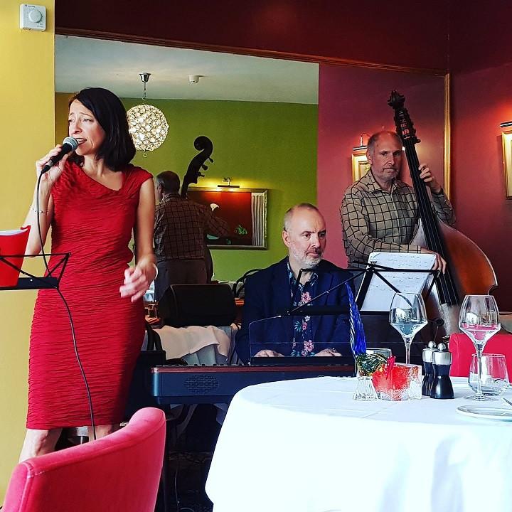 Barbara Reggio Trio Jazz evening Sunday  4th July from 18:30 at Manuel's