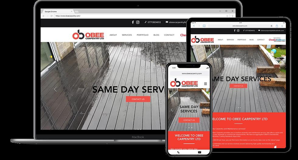 Web Design : Obee Carpentry