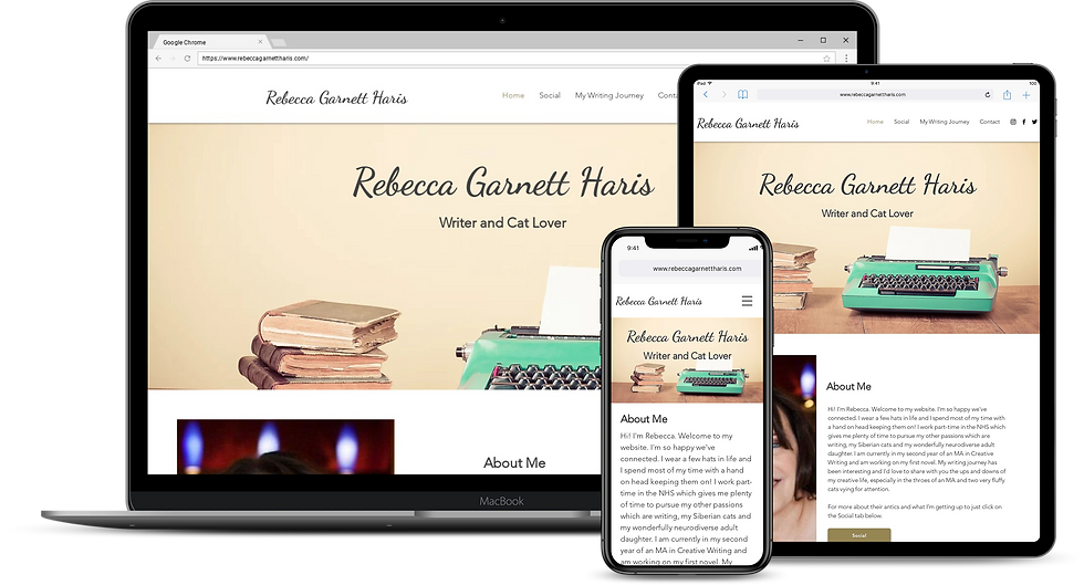 Web Design : Rebecca Garnett Haris