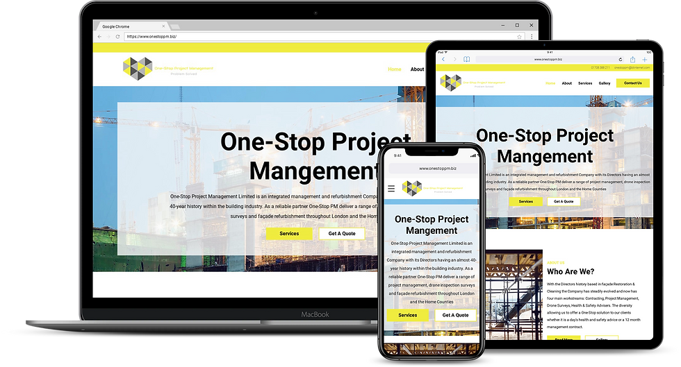 Web Design : One Stop Project Management