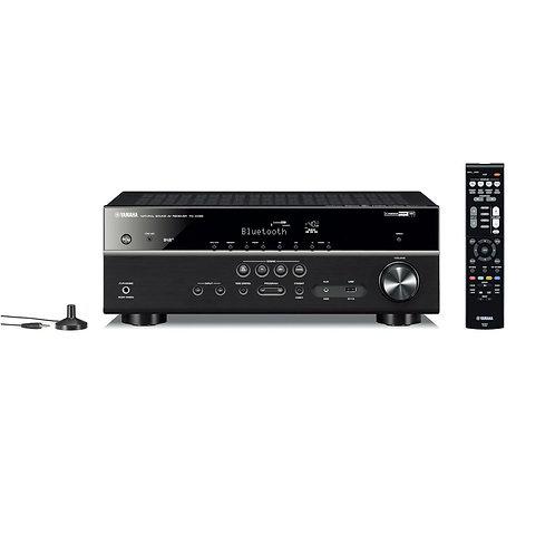 Yamaha RX-D485 Black 5.1ch AV Receiver - Dolby Vision HDR, DAB/DAB+, HDMI 4/1