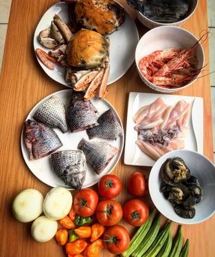 Seafood preparation