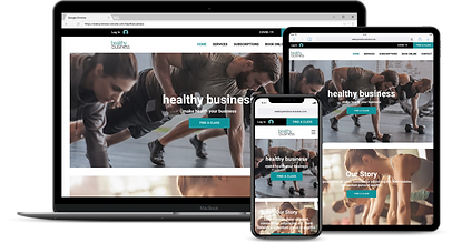 Web Design : Healthy Business