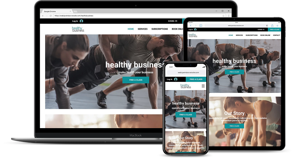 Web Design : Healthy Business