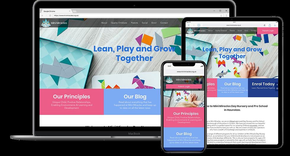 Web Design : Mini Miracles