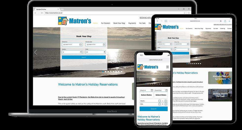 Web Design : Matrons