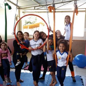 Neopilates encanta os alunos do Tempo Integral na Escola Officina do Saber.