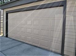 Fully insulated garage door install by Local First Garage, Denver garage door service and repair