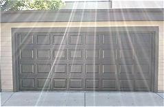 Non-insulated garage door installation by Local First Garage, Denver garage door service