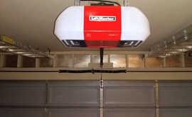 New garage door and LiftMaster opener installation