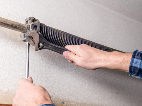 Three Types of Garage Door Spring Replacement Jobs