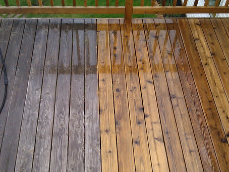 What is a home exterior soft wash?