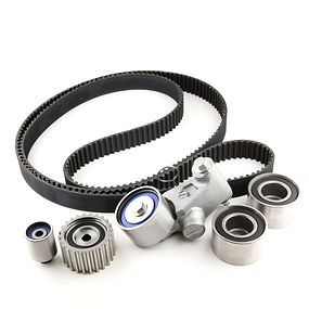 Timing belts, pulleys, water pumps