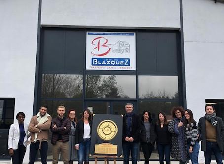Le groupe Blazquez à la Une du club des partenaires du Castres Olympique