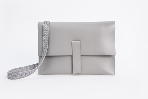 Cross Body Large Grey
