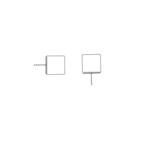 náušnice Cube 08