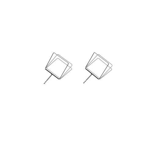 náušnice Cube 04