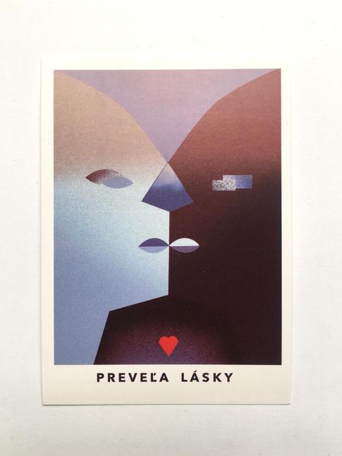 pohľadnica Preveľa lásky