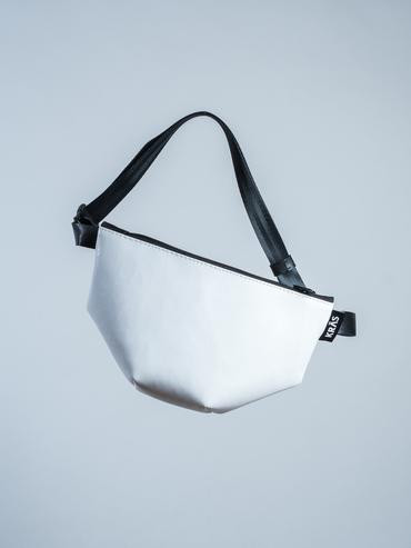 hip bag midi white