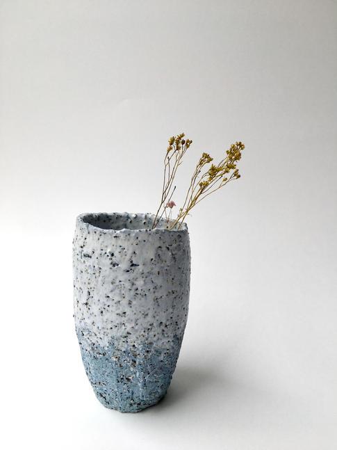 pohár Primitives M modrý