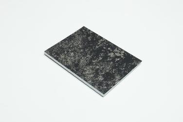 zápisník Botanical čierno-medený rojovník