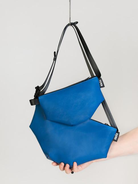 hip bag blue