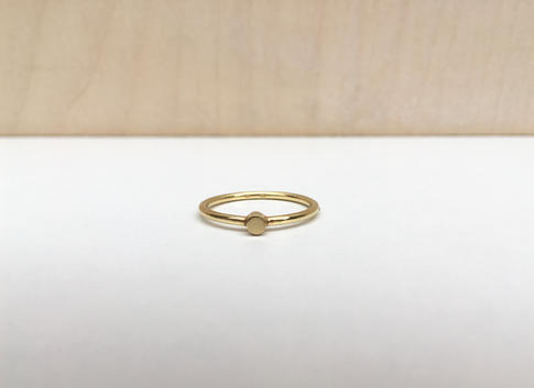prsteň ONE Ag gold